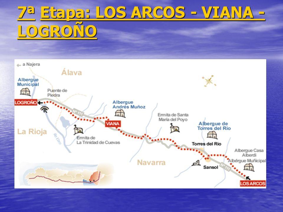 7ª Etapa: LOS ARCOS - VIANA - LOGROÑO