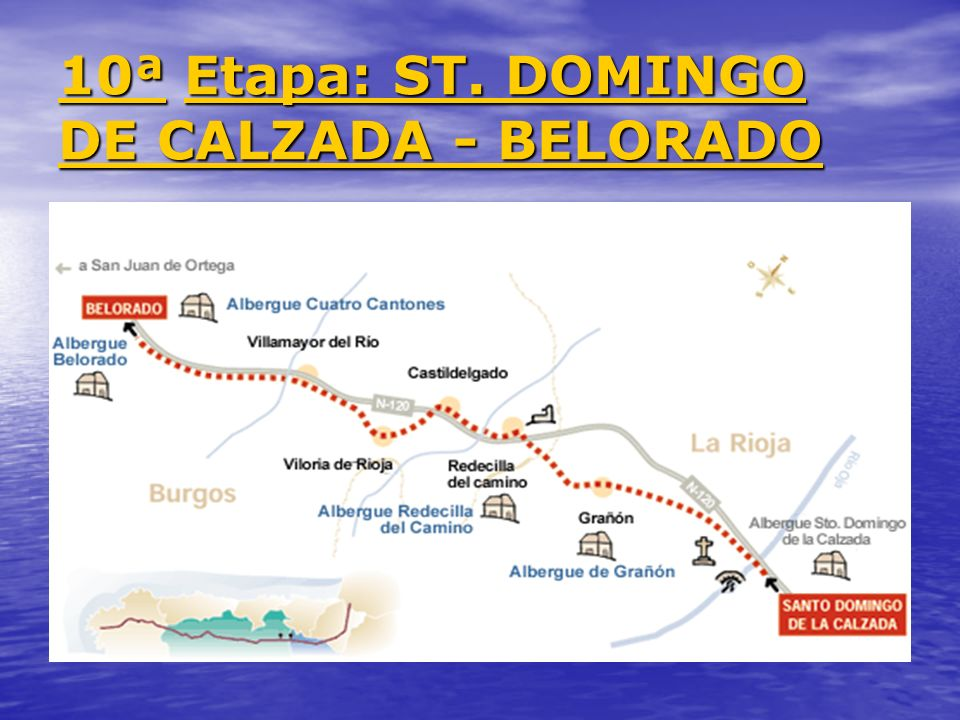 10ª Etapa: ST. DOMINGO DE CALZADA - BELORADO