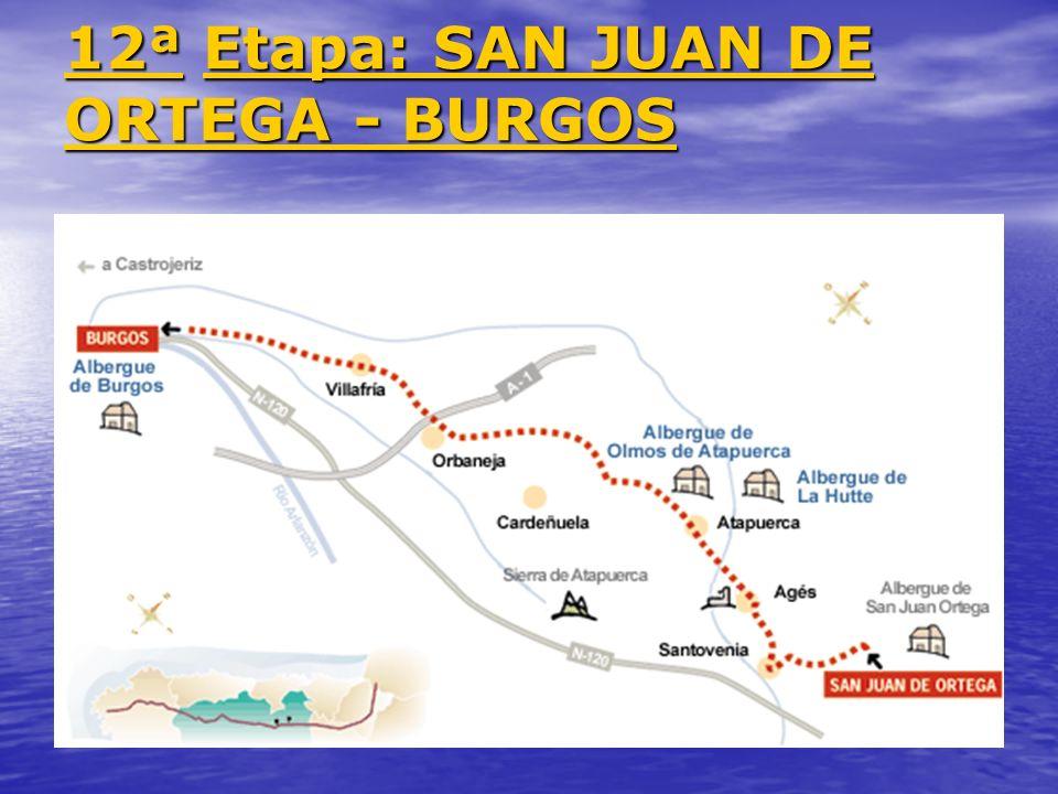 12ª Etapa: SAN JUAN DE ORTEGA - BURGOS