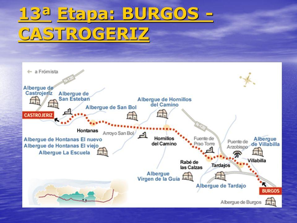 13ª Etapa: BURGOS - CASTROGERIZ