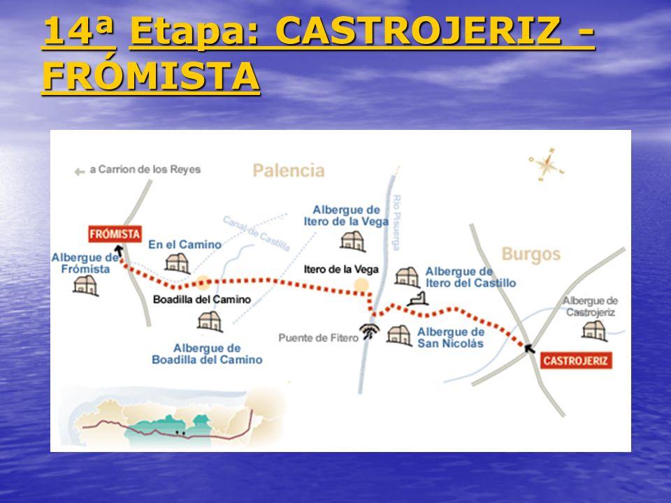 14ª Etapa: CASTROJERIZ - FRÓMISTA