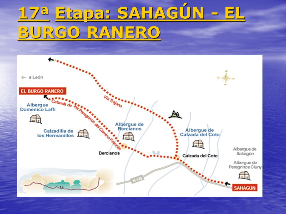 17ª Etapa: SAHAGÚN - EL BURGO RANERO