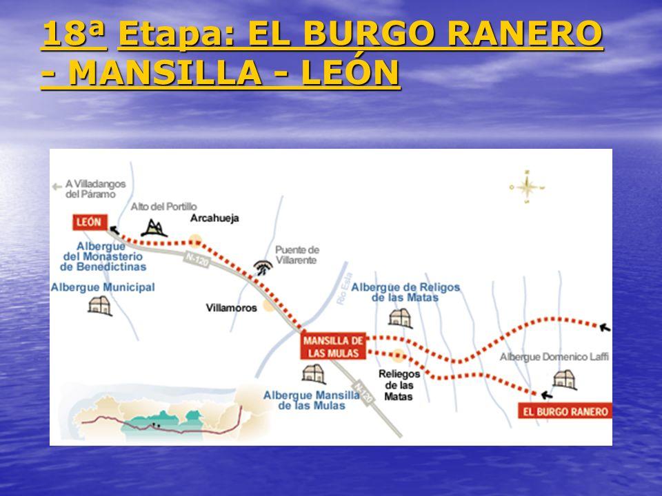 18ª Etapa: EL BURGO RANERO - MANSILLA - LEÓN