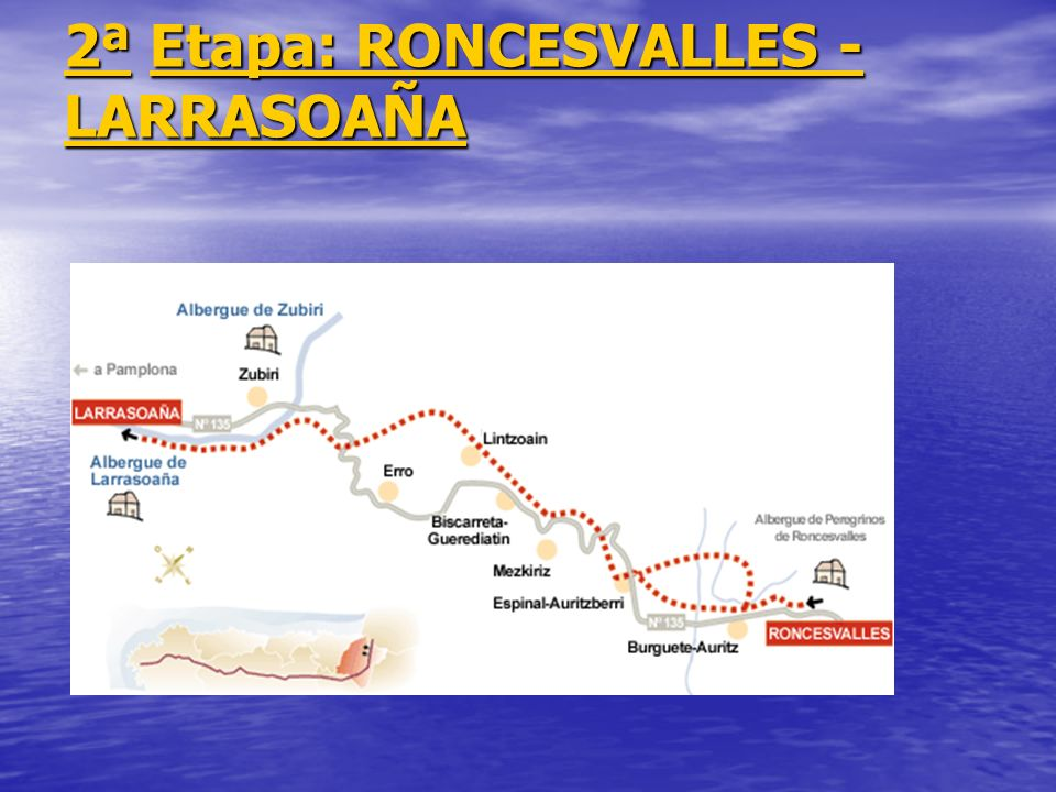 2ª Etapa: RONCESVALLES - LARRASOAÑA