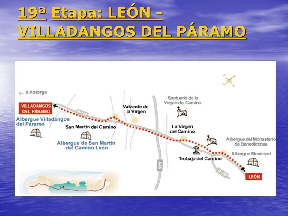 19ª Etapa: LEÓN - VILLADANGOS DEL PÁRAMO