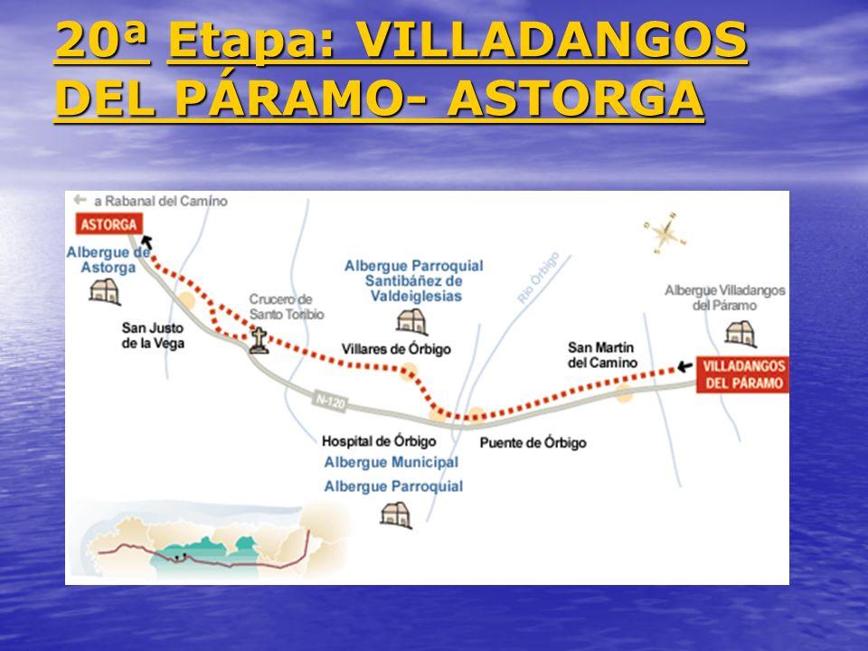 20ª Etapa: VILLADANGOS DEL PÁRAMO- ASTORGA