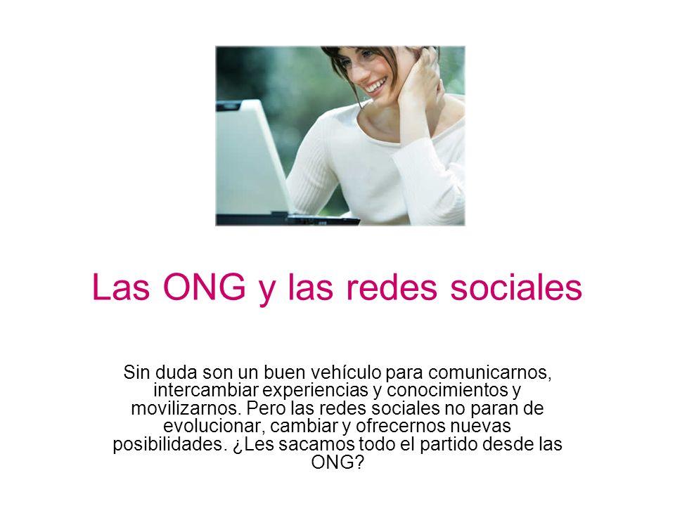 Las ONG y las redes sociales