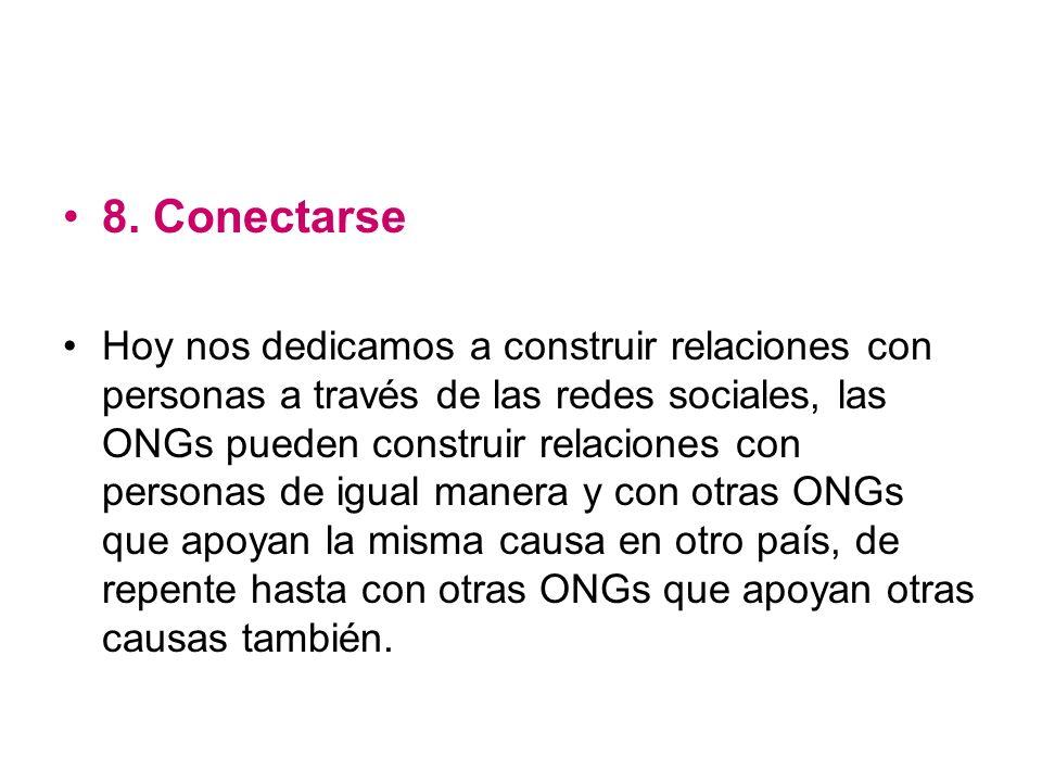 8. Conectarse