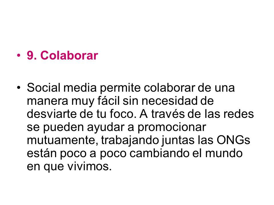 9. Colaborar