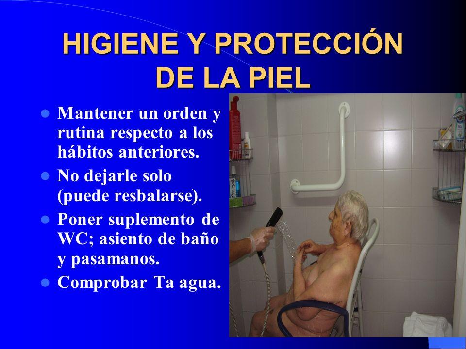 HIGIENE Y PROTECCIÓN DE LA PIEL