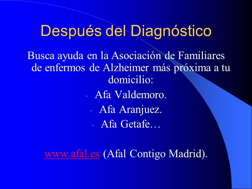 Después del Diagnóstico