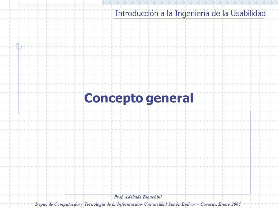 Concepto general