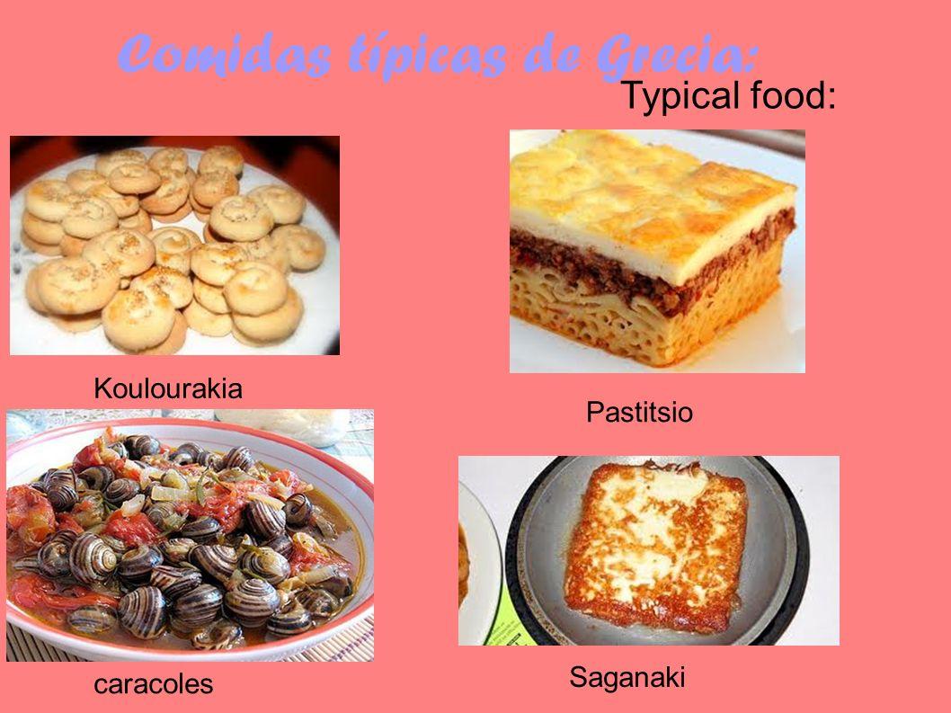 Comidas típicas de Grecia: