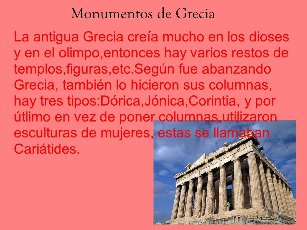 Monumentos de Grecia