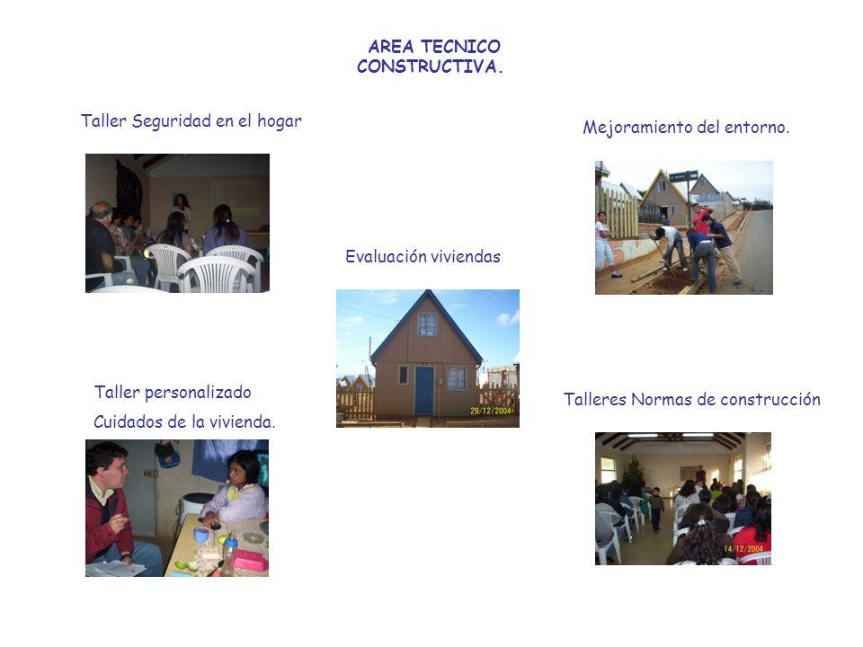 AREA TECNICO CONSTRUCTIVA.