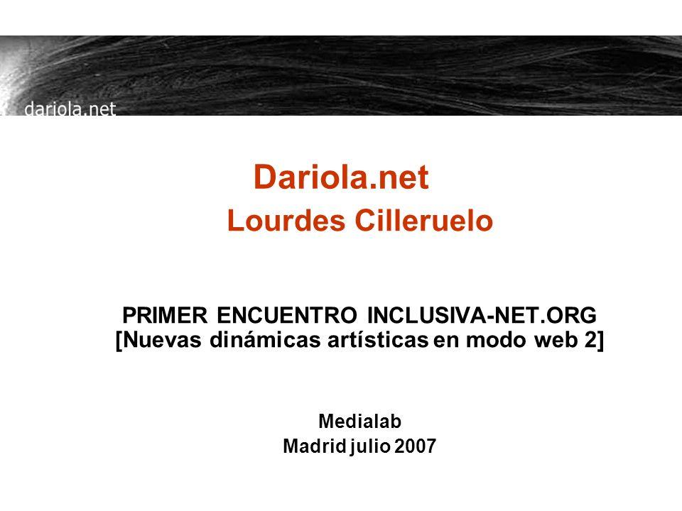 Dariola.net Lourdes Cilleruelo