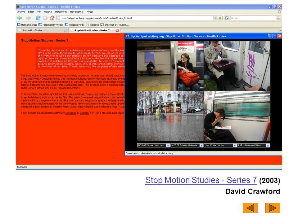 Stop Motion Studies - Series 7 (2003)