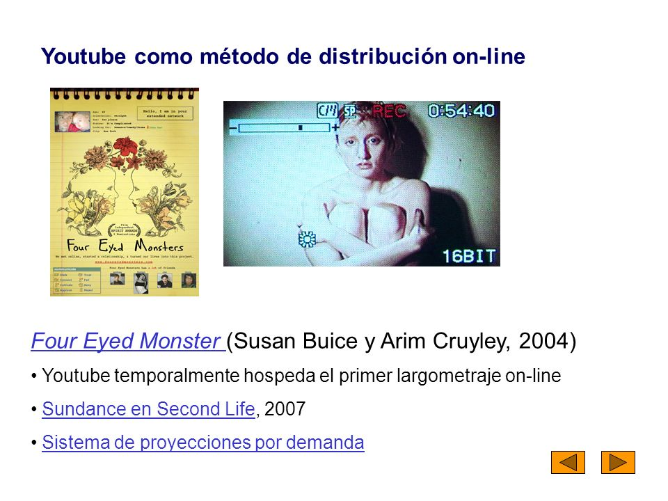 Youtube como método de distribución on-line