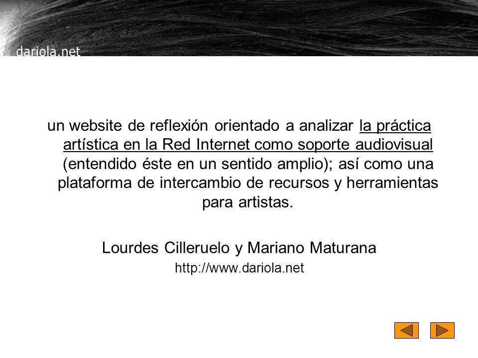Lourdes Cilleruelo y Mariano Maturana