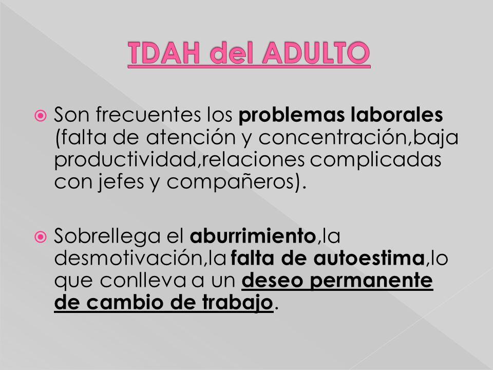 TDAH del ADULTO