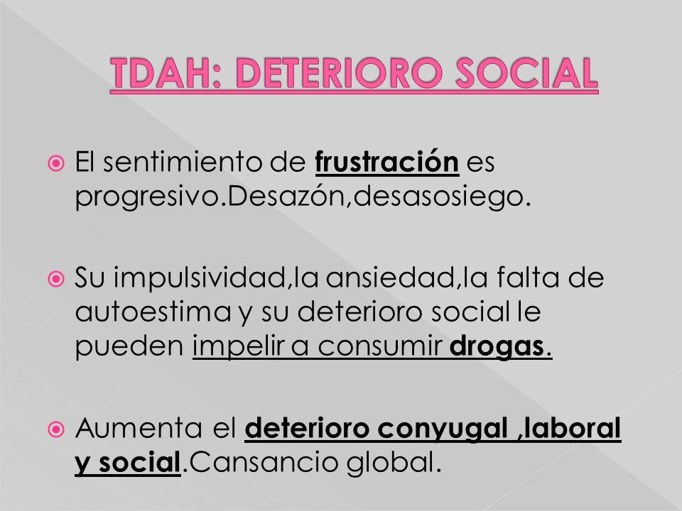 TDAH: DETERIORO SOCIAL