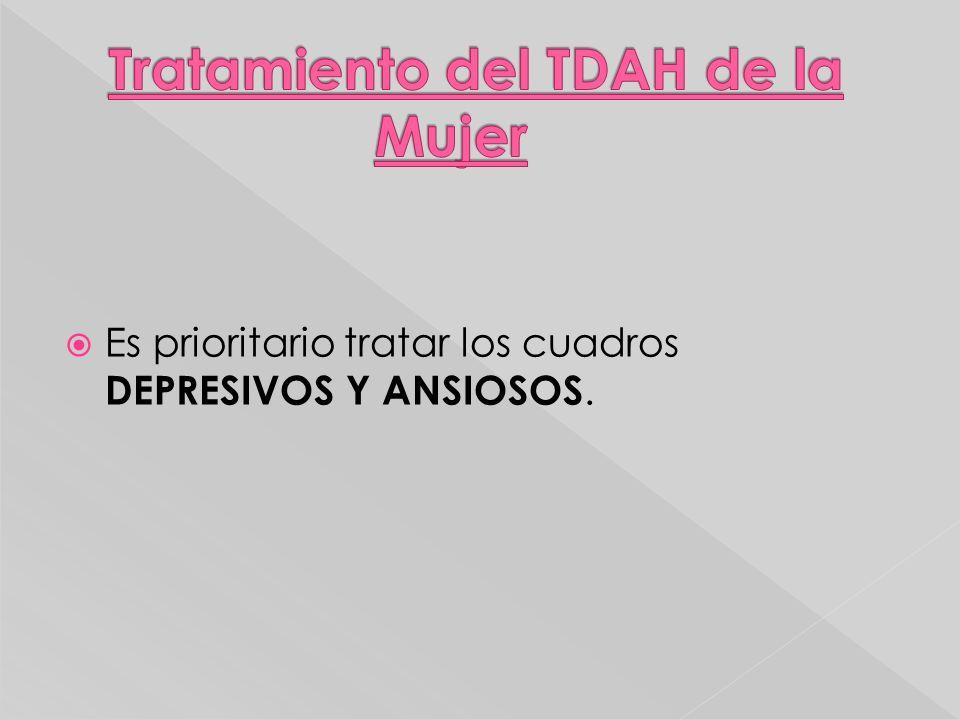 Tratamiento del TDAH de la Mujer