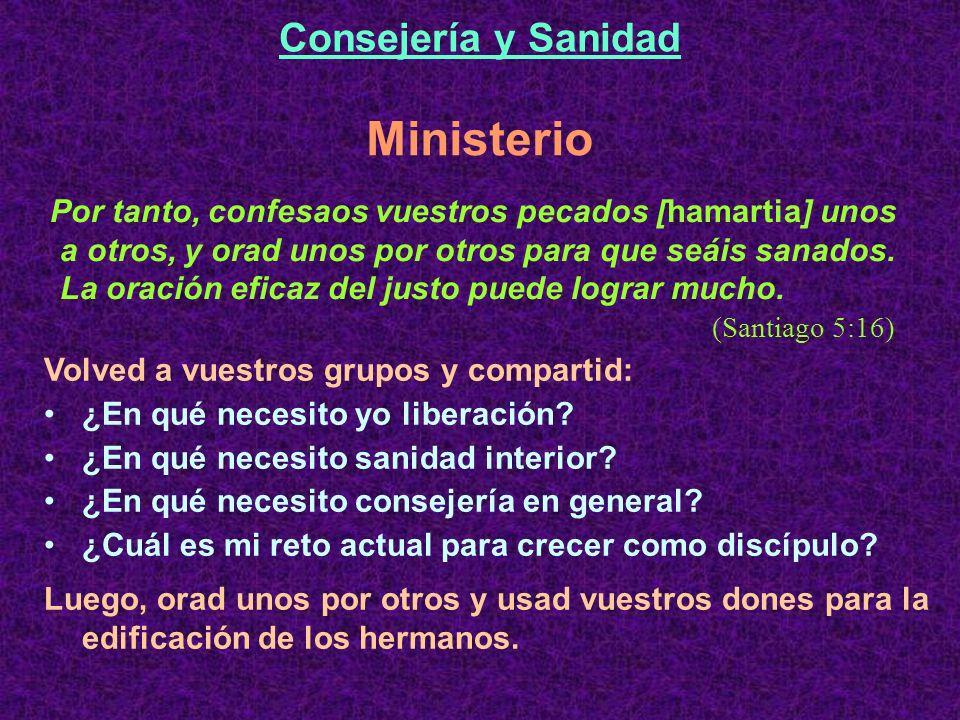 Ministerio Consejería y Sanidad