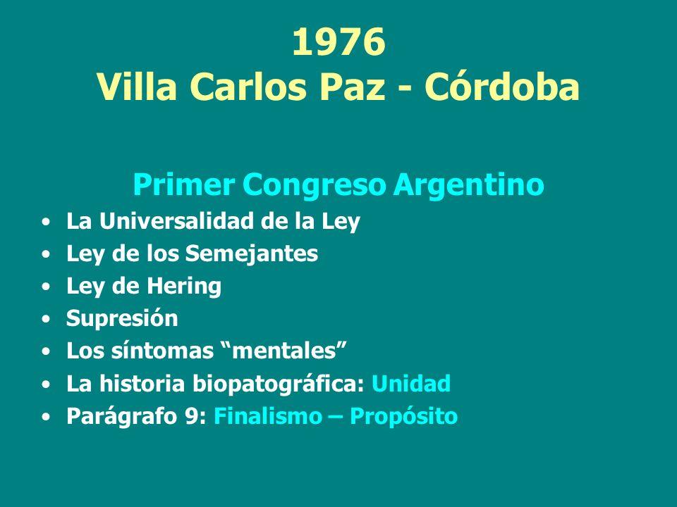 1976 Villa Carlos Paz - Córdoba
