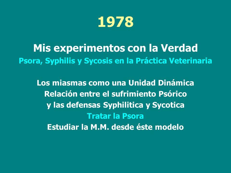 1978 Mis experimentos con la Verdad