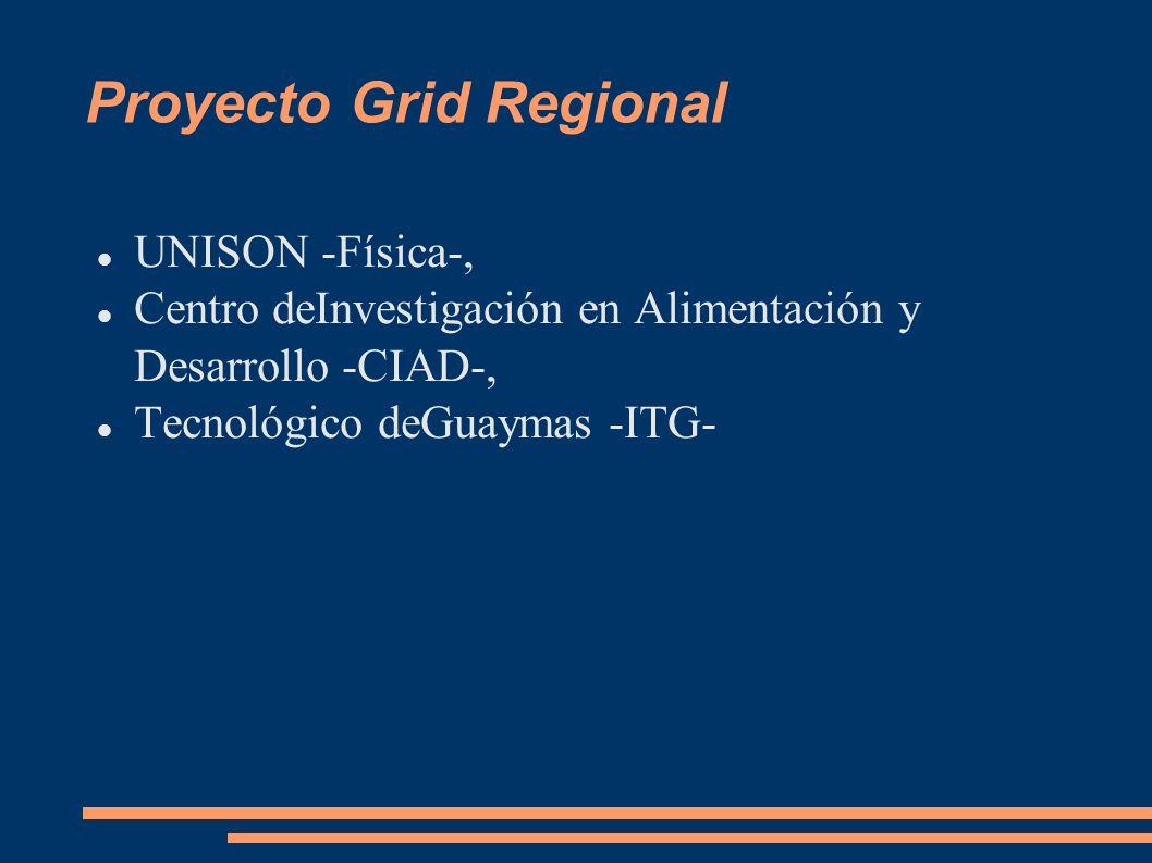 Proyecto Grid Regional
