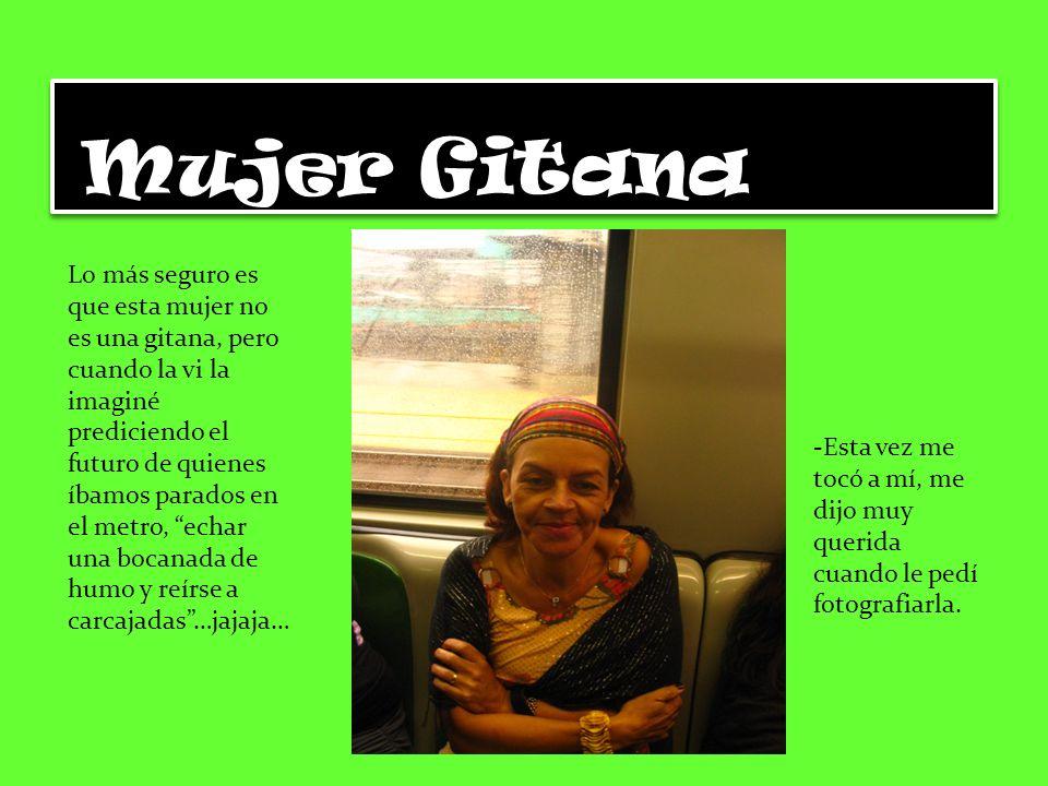 Mujer Gitana