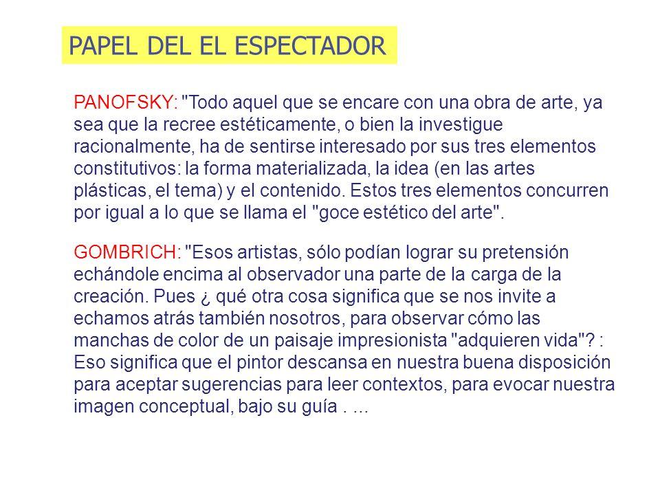 PAPEL DEL EL ESPECTADOR
