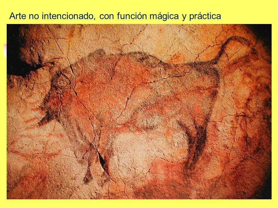 Arte no intencionado, con función mágica y práctica