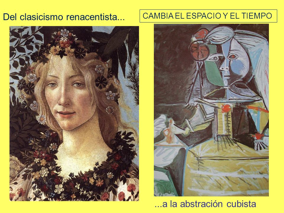 Del clasicismo renacentista...
