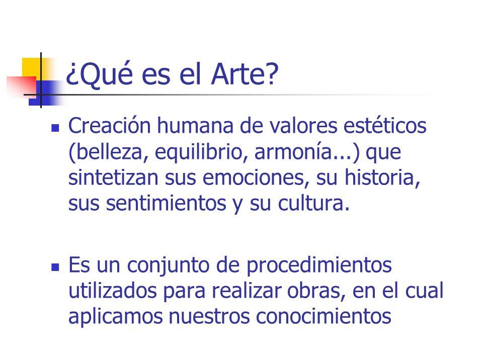 ¿Qué es el Arte