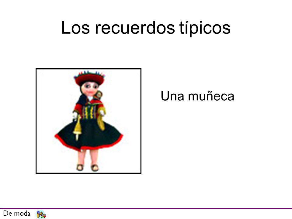 Los recuerdos típicos Una muñeca De moda