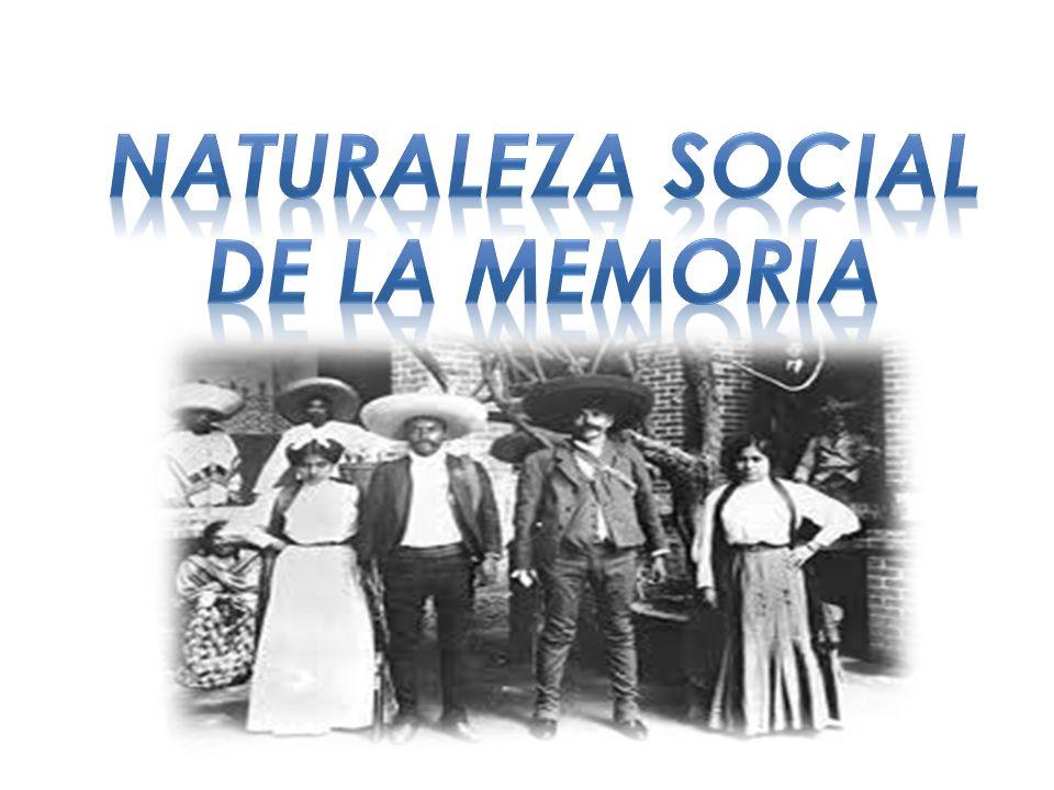 Naturaleza social de la memoria