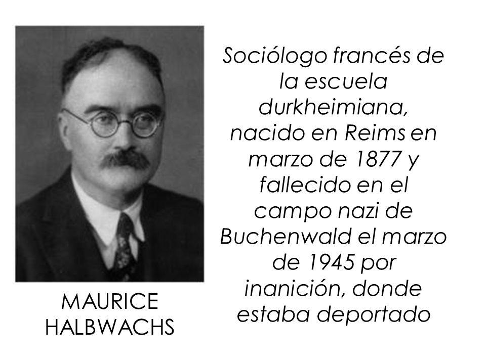Sociólogo francés de la escuela durkheimiana, nacido en Reims en marzo de 1877 y fallecido en el campo nazi de Buchenwald el marzo de 1945 por inanición, donde estaba deportado
