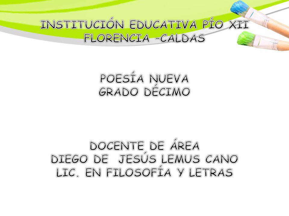 INSTITUCIÓN EDUCATIVA PÍO XII FLORENCIA –CALDAS