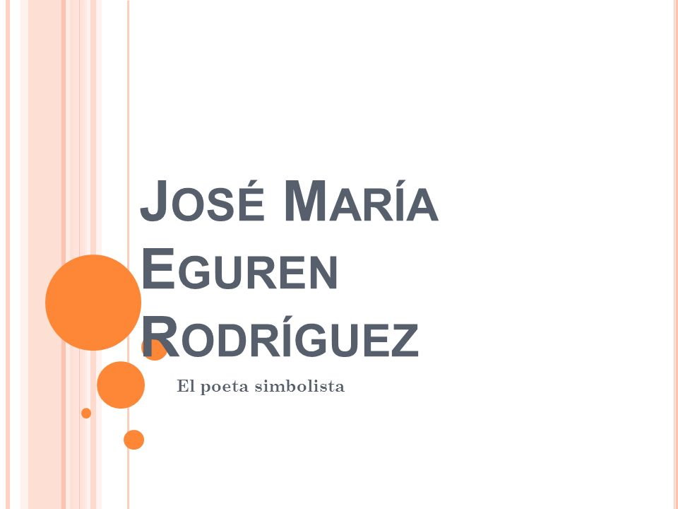 José María Eguren Rodríguez