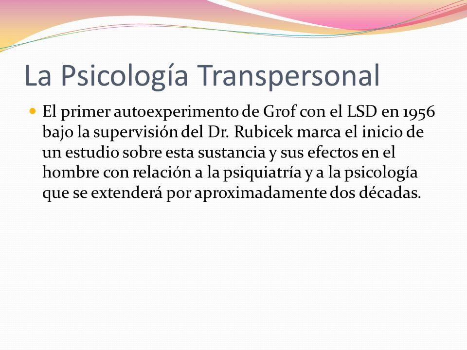 La Psicología Transpersonal