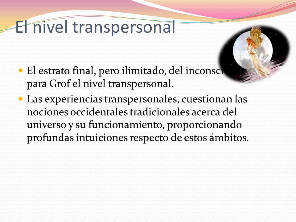 El nivel transpersonal