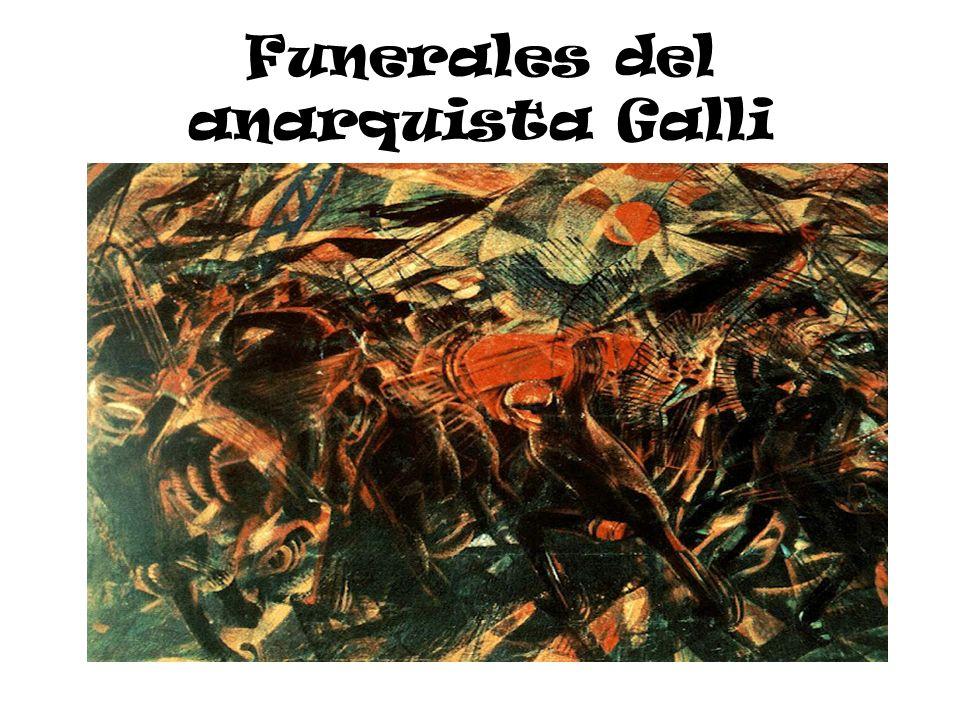 Funerales del anarquista Galli