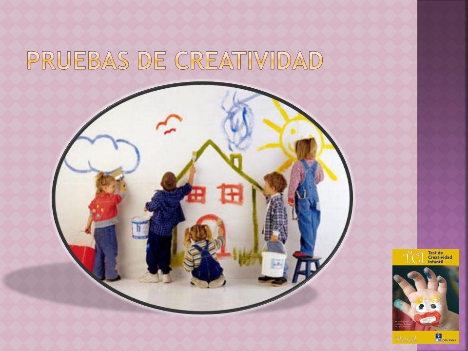 PRUEBAS DE CREATIVIDAD