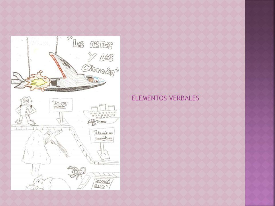 ELEMENTOS VERBALES