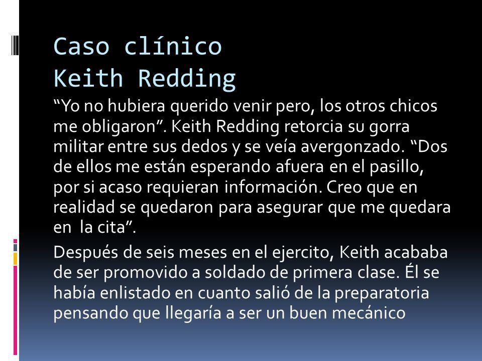 Caso clínico Keith Redding