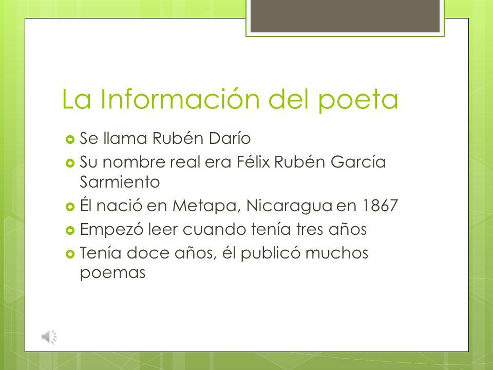 La Información del poeta