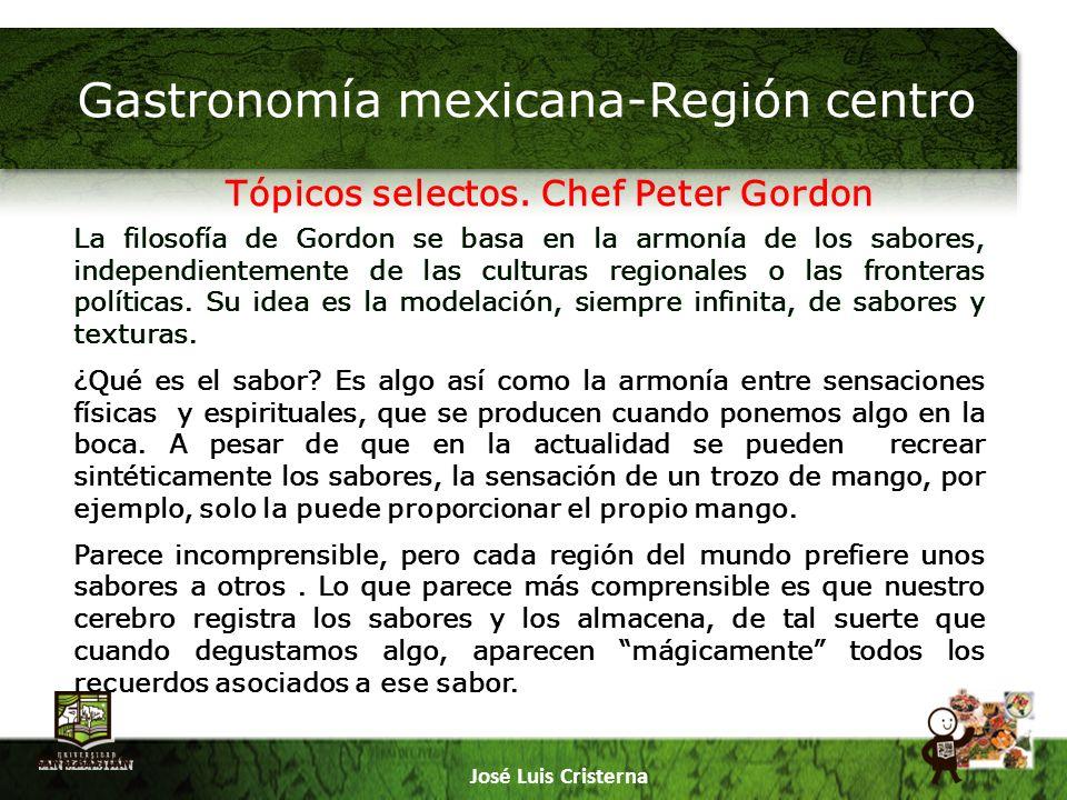 Gastronomía mexicana-Región centro