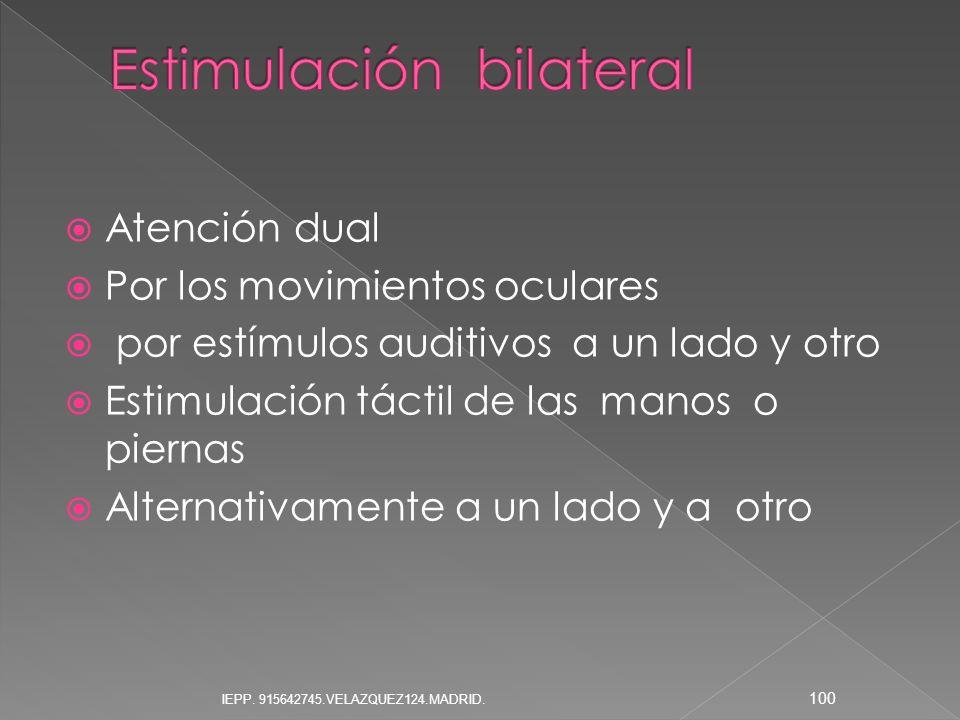 Estimulación bilateral