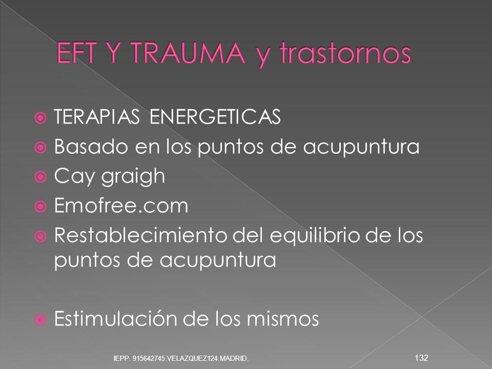 EFT Y TRAUMA y trastornos